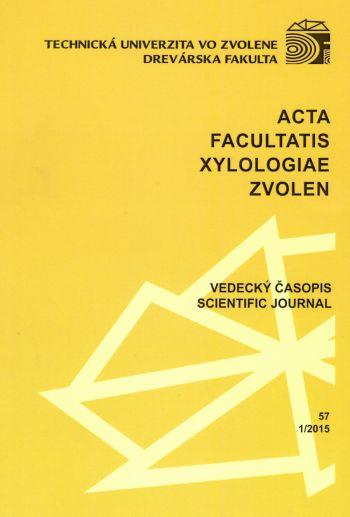 Acta Facultatis Xylologiae 57 1/2015