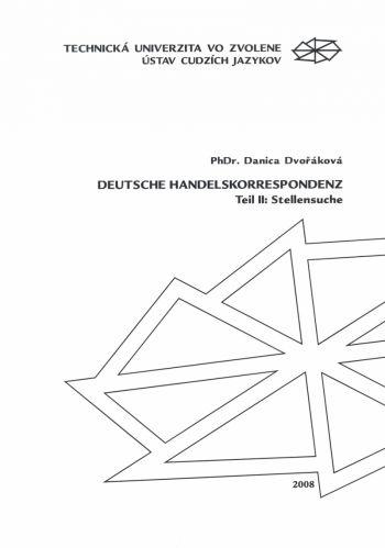 Deutsche Handelskorrespondenz Teil II: Stellensuche