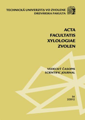 Acta fakultatis xylologiae 54 2/2012