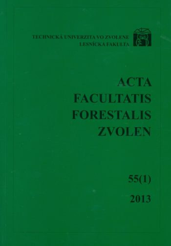 Acta Facultatis Xylologiae 55 1/2013