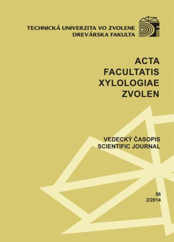Acta Facultatis Xylologiae 56 1/2014